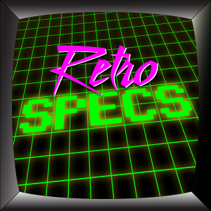 Retro Specs Logo of a TV